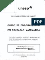 A avaliação integrada ao processo de ensino-aprendizagem de matemática na sala de aula - Pironel, M.