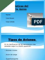 Caracteristicas Del Transporte Aereo