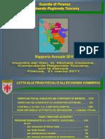 Slide - Comunicato LONG Bilancio Operativo Toscana 2016