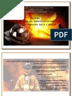 Broșura Incendii
