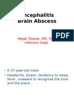 Encephalitis BrainAbscess