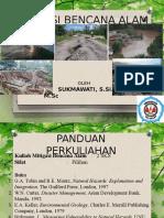 Mitigasi Bencana Alam 1