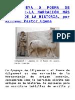 La Epopeya o Poema de Gilgamesh