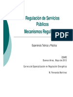 Mecanismos Regulatorios