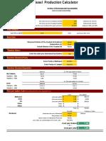 Biodiesel Calculator