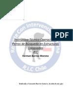 Instructivo Tecnico Operacional Perros de Busqueda en estructuras Colapsadas RIC-Chile.pdf