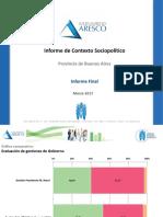 Informe Aresco - PBA Marzo 2017