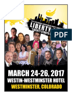 2017 Libertarian Party of Colorado State Convention Program