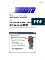 Lecture 6 -- Implementation of 1D FDTD