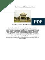 Peninggalan Bersejarah Kalimantan Barat
