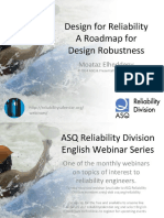 Design for Reliability a Roadmap for Design Robustness