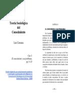 UD 1 CARRANZA Teoria Sociologica Del Conocimiento Pp.11-25