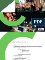 Guide 2010 du Conservatoire du Grand Avignon
