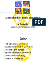 Mechanish of Body Movement