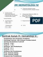 Morfologi Darah Tepi(1)