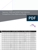 Spansion NAND Cross Reference Guide
