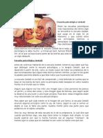 Escuela Psicológica Gestalt Psicología de La Comunicación