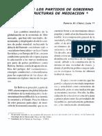 Crisis de Los Partidos, Chavez Leon