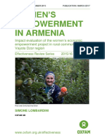 Women's Empowerment in Armenia