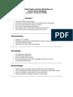FG Schema Handout3 FocusGroup