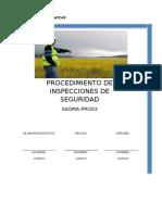 Procedimiento de Inspecciones Pr003 y Pr004