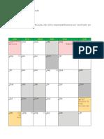 Calendario 2017 São Paulo
