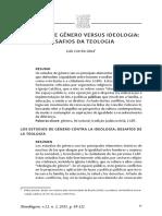 Genero Ideologia Teologia