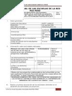Informe Anual Escuelas RedPEA PERÚ 2016