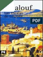 Amin Maalouf-Las Escalas de Levante