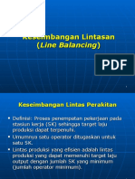 (6) Line Balancing