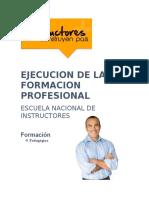 8 Ejecucion de La Formacion Profesional.(Resumen)Docx