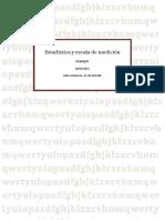Estadística y Escala de Medición PDF