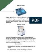 Maquinarias Quimica Clinica