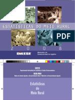 DIEESE. Estatísticas Do Meio Rural 2008
