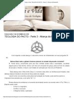 Teologia Do Pacto - Aliança Da Redenção