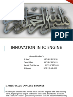 IC Engine Innovation