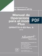 manual ht70
