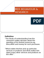 Consumer Behaviour & Reserach (2)