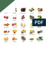 30 frutas