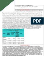 PLANEACION PRIMER PROYECTO ESPAÑOL 1 E y F.doc