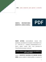 28.1- Pet. Inicial - Auxílio-doença - Concessão de Benefício - Modelo Genérico