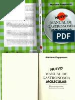 Nuevo Manuela de Gastronomia Molecular