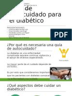 Guía de Autocuidado Para El Diabético