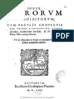 Index Librorum Prohibitorum (1570)
