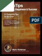Neurotips for Money Happiness Success