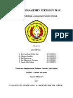 Konsep Regulasi Strategi Manajemen Sektor Publik