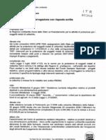 Interrogazione XIX-2040 Protezione per i malati di celiachia