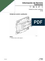 Is.28. Unidad de Control, Sustitucion. D13A. Edicion 1