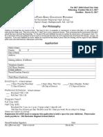 application 2017-18