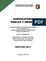 Convocatoria Docentes 2017 Para Difusión-1